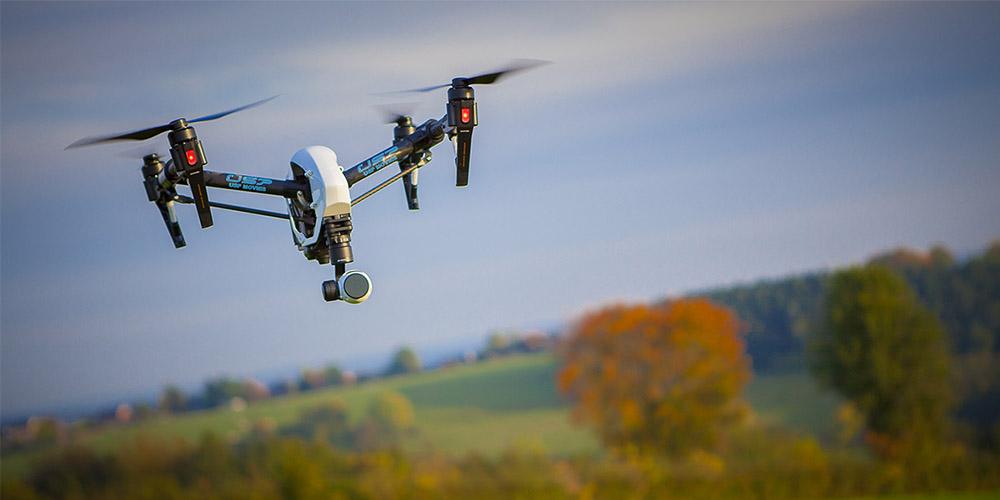 Prise de vue aérienne avec drone