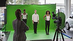 Studio Fond Vert Portable Belgique