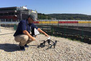 Prise de Vue Aérienne du Ciel Avec Drone USP-MOVIES