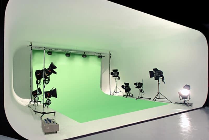 USP MOVIES Studio Fond Vert Green Key Belgique Liège Bruxelles